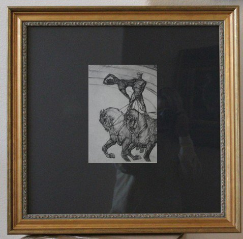 """TOULOUSE-LAUTREC 1967 HELIOGRAVURE FROM THE """"AT THE"""