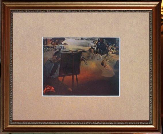 VINTAGE 1968 DALI LITHOGRAPH
