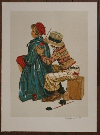 "ROCKWELL - HAND SIGNED ""SHE'S MY BABY"" 1976"