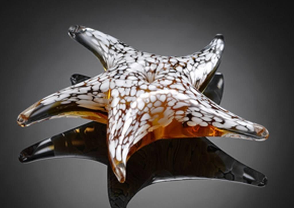 ART GLASS STARFISH