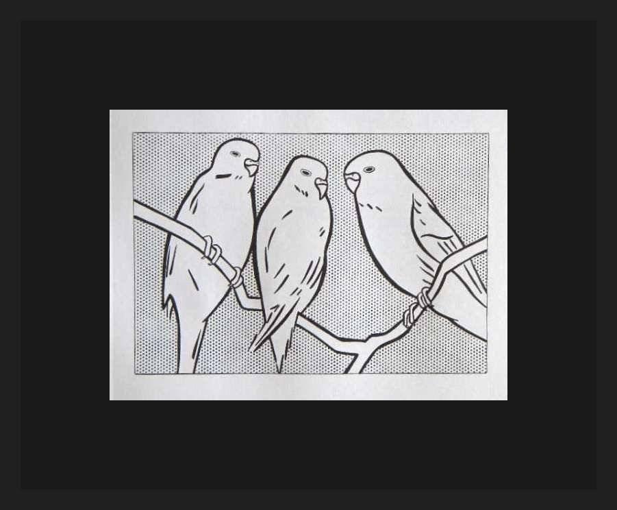 """ROY LICHTENSTEIN """"BIRDS"""""""