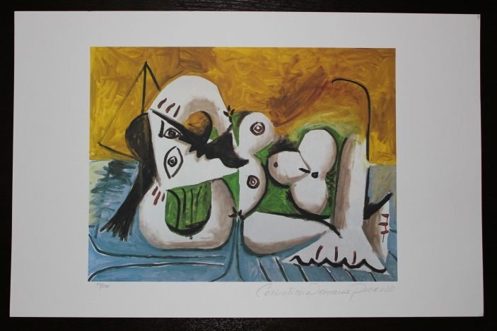 """PICASSO """"RECLINING NUDE"""""""
