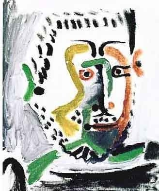 "PICASSO ""MAN'S HEAD"""