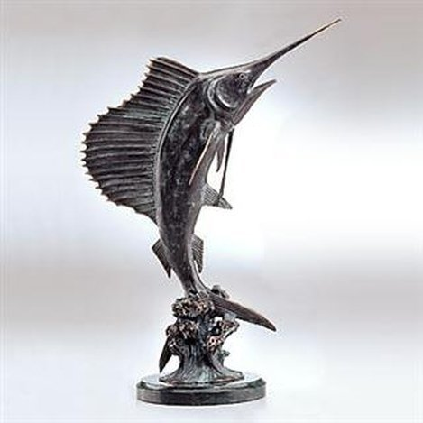 SAILFISH BRONZE SCULPTURE