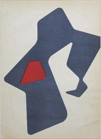 ARP ORIGINAL LITHOGRAPH, 1952