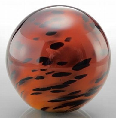 ART GLASS SPHERE / PAPERWEIGHT