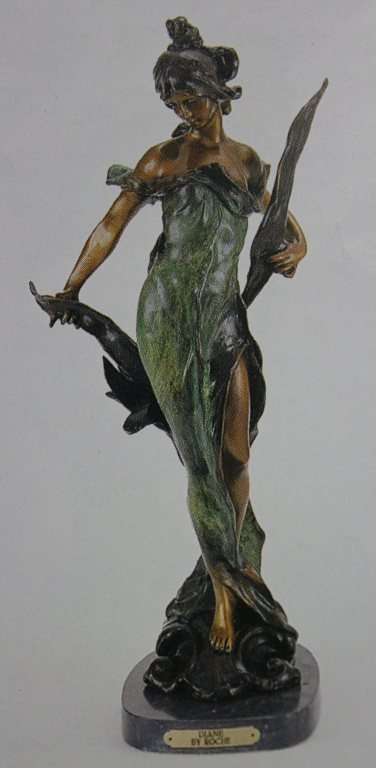 """DIANE"" BRONZE SCULPTURE - ROCHE"