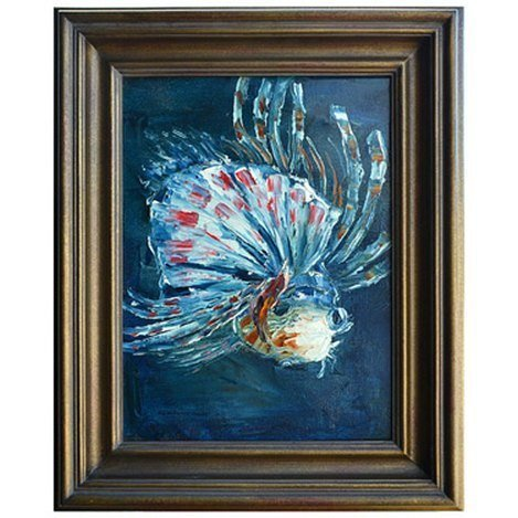 """""""LION FISH"""" - ORIGNIAL OIL ON CANVAS"""