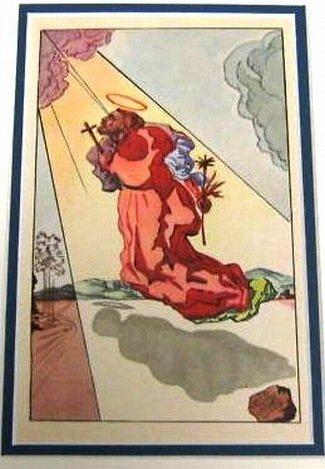 DALI ANTIQUE LITHOGRAPH (1947)