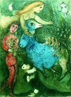 """CHAGALL """"CIRCUS FRONTISPIECE"""""""