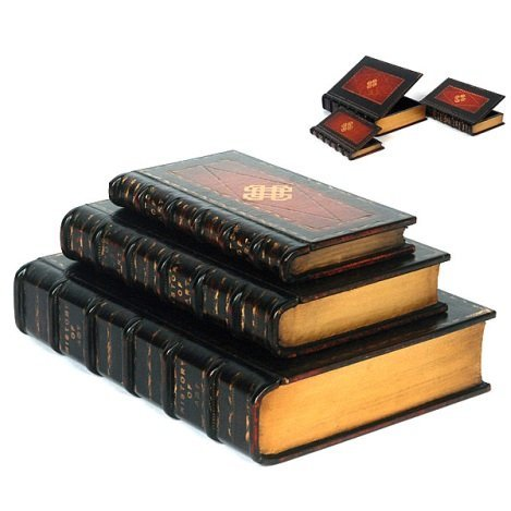 SET OF BOOK BOXES