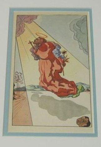 DALI ANTIQUE LITHOGRAPH (1945)