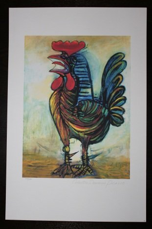 """PICASSO """"THE ROOSTER"""""""