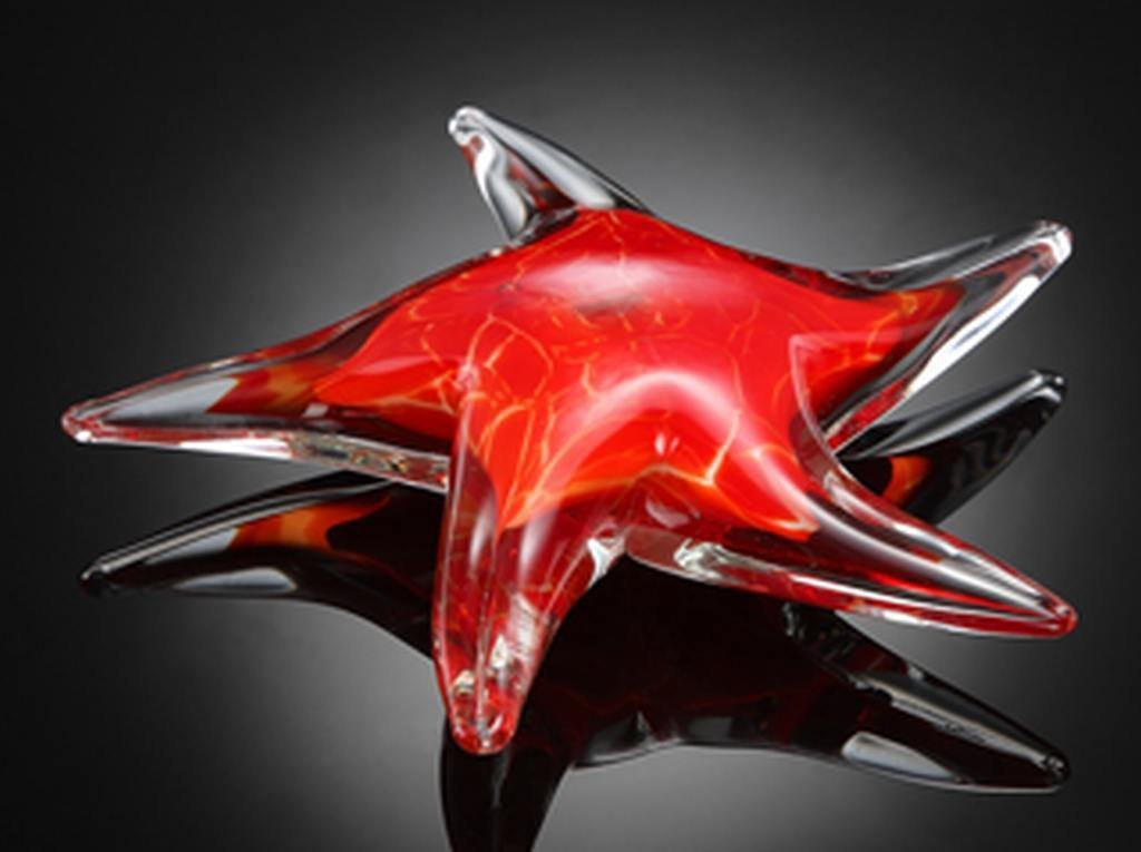ART GLASS STARFISH