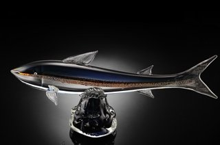 ART GLASS TROUT