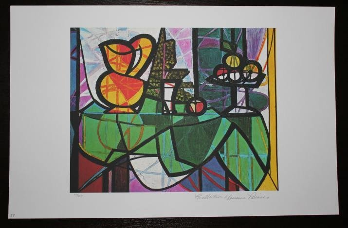 """PICASSO """"PITCHER AND BOWL OF FRUIT"""""""