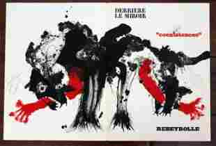 PAUL REBEYROLLE 1970 ORIGINAL LITHOGRAPH