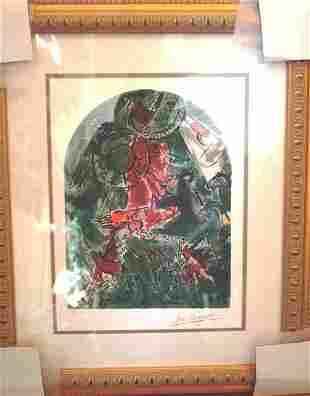 CHAGALL LTD EDITION JERUSALEM WINDOW