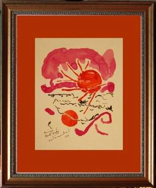 ANDRE MARCHAND LITHOGRAPH