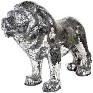 MIRROR MOSIAC LION
