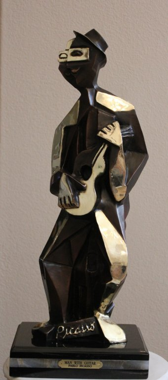 "PICASSO'S - ""MAN WITH GUITAR"""