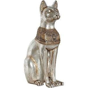 EGYPTIAN CAT GODDESS SCULPTURE
