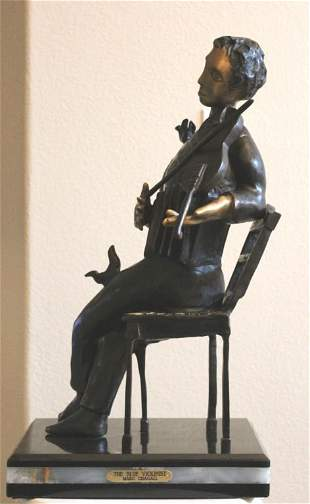 """CHAGALL'S - """"THE BLUE VIOLINIST"""""""