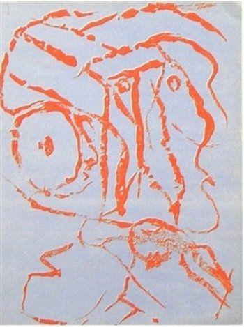 ALECHINSKY ORIGINAL LITHOGRAPH, 1960