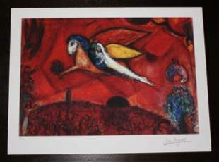"""MARC CHAGALL """"SONG OF SONGS IV"""""""