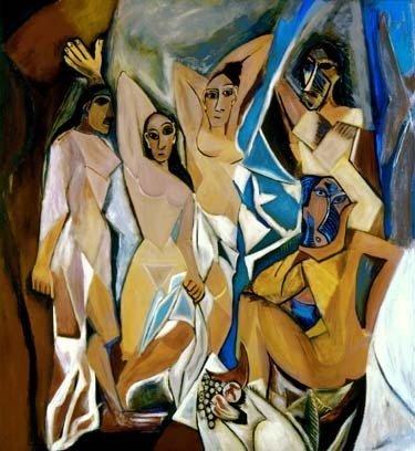 """PICASSO """"THE WOMEN OF AVIGNON"""""""