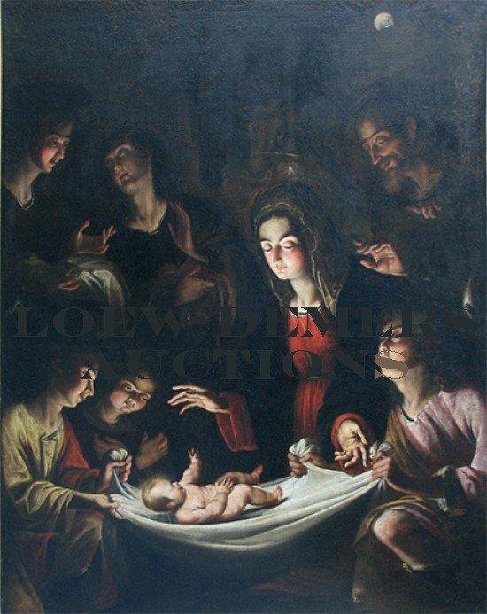 JEAN LECLERC (France, 1586-1633)