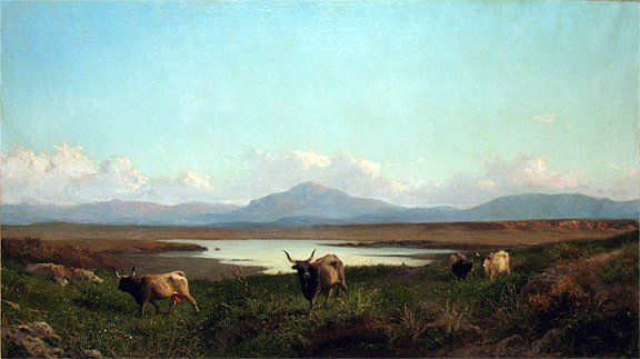 ACHILE VERTUNNI  (Italy, 1826-1897)