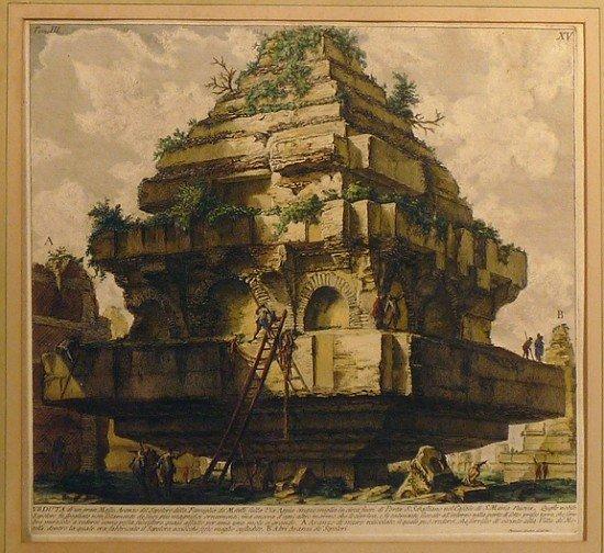 GIOVANNI BATTISTA PIRANESI (Italy, 1720-1778)