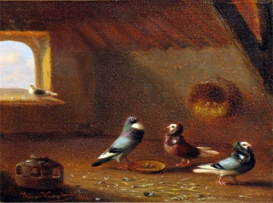 FRANZ VAN SEVERDONCK  (Belgium, 1809-1879)