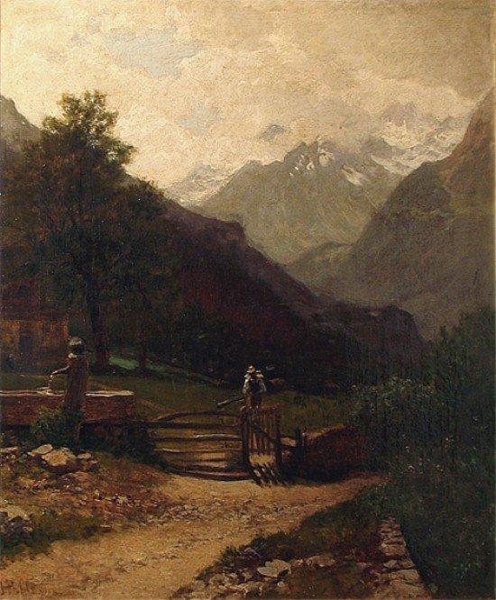 HERMANN POHLE  (1831-1901, GERMAN