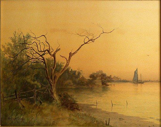 Francis Augustus Silva (American 1835-1886)
