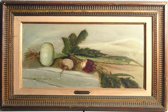 Jane Pickens Langley (American 1908-1992) Oil Painting