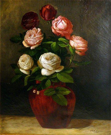 Charles Storer  (American 1817- 1907)  O/C