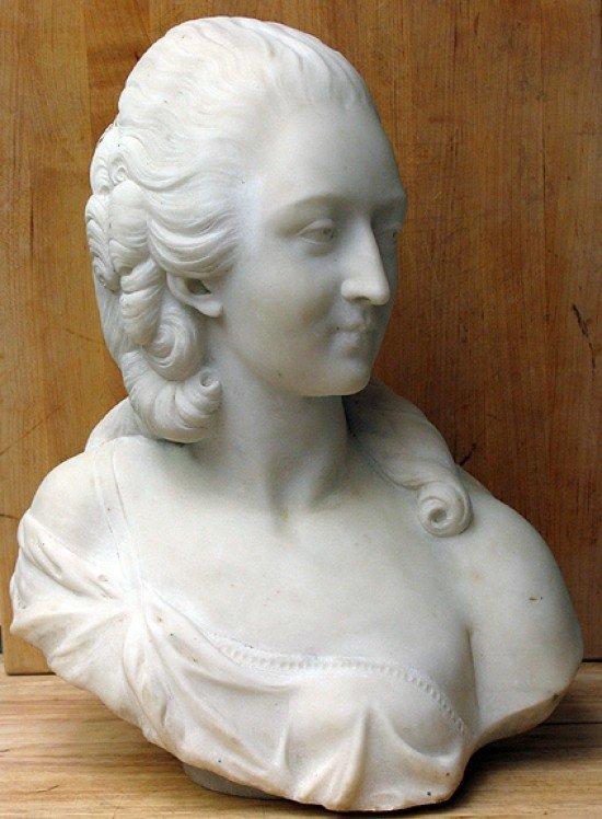 After Augustin Pajou (1730-1809) MADAME DU BARRY