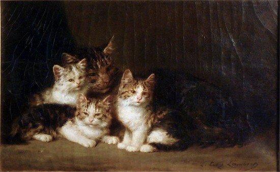 Louis EUGENE LAMBERT (France 1825-1900)