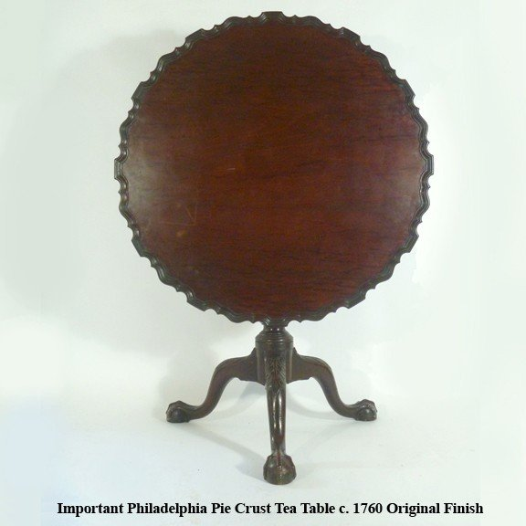 2: Rare Philadelphia  Pie Crust Tea Table