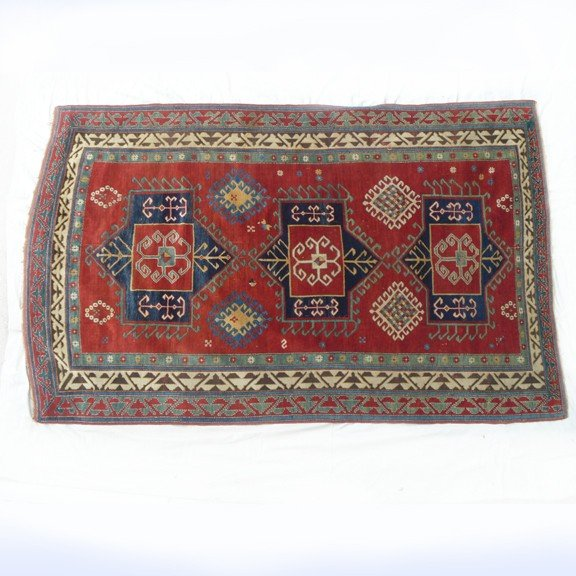 5: ANTIQUE 19th CENTURY BORJALOU KAZAK RUG