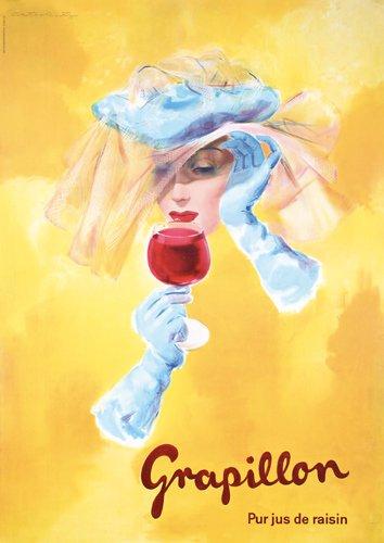 10: Original 1950s Poster Grapillon DECO