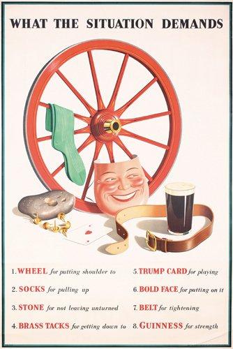 17: Original 1930s Guinness Poster
