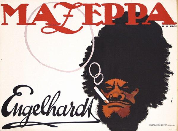 21: Original Poster Mazeppa ERDT 1912