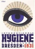 57: Stunning Original 1930s Poster PETZOLD Plakat