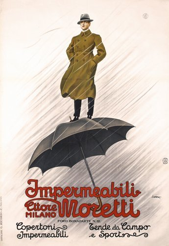 7: Original Italian Poster 1920s Metlicovitz