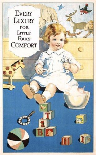 14: Original American Advertising Poster 1920s