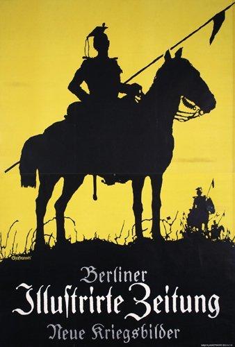 18: Original Berlin Newspaper Poster 1915