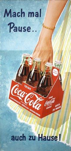 44: Original 1950s Coca Cola Poster
